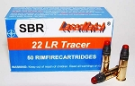 22 LONG RIFLE, TRACER-RED, 50 RDS