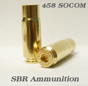 458 SOCOM BRASS SBR 100 PIECES